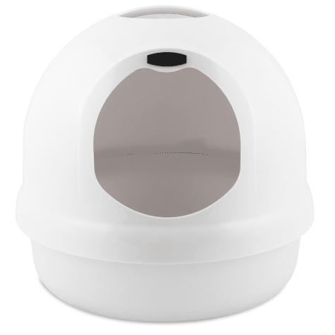 Booda Dome Pearl White Litter Box
