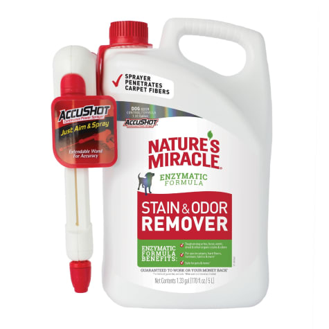 Nature's Miracle AccuShot Stain and Odor Remover