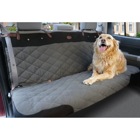 PetSafe Happy Ride Quilted Premium Bench Green Seat Cover for Dogs