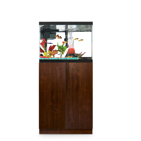 Imagitarium Faux Woodgrain Fish Tank Stand, Up to 20 Gal.
