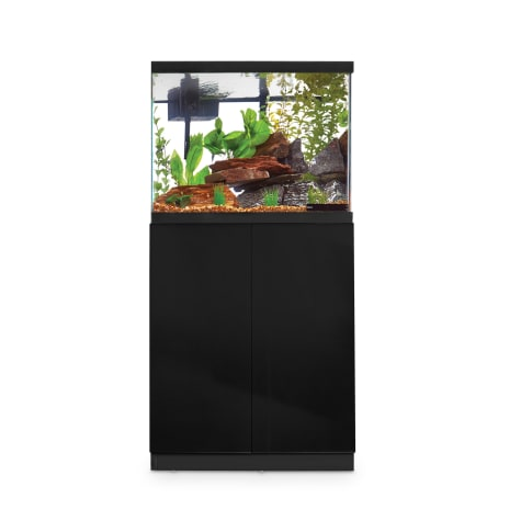 Imagitarium Black Gloss Fish Tank Stand, Up to 29 Gal.