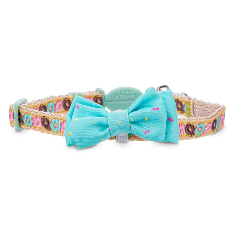 Bond & Co. Donut-Print Breakaway Bowtie Cat Collar