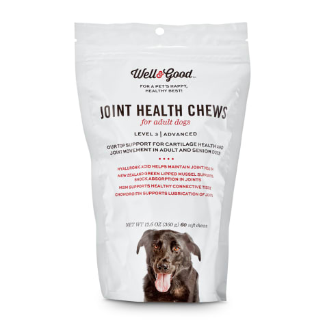 Well & Good Adult Level 3 Dog Joint Health Chewable Tablets