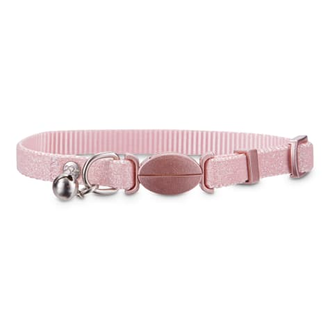 Bond & Co. Pink Sparkle Breakaway Cat Collar