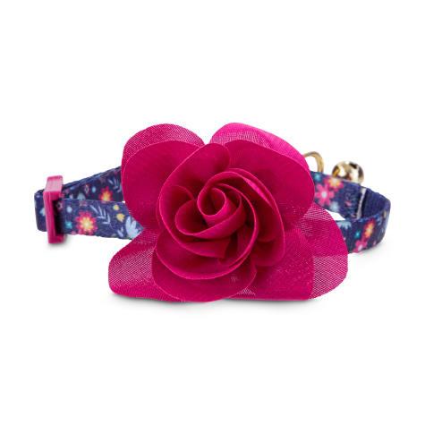 Bond & Co. Pink Blooming Blossom Kitten Collar