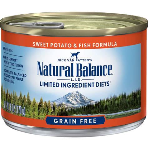 Natural Balance L.I.D. Limited Ingredient Diets Sweet Potatoes & Fish Wet Dog Food