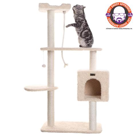 Armarkat Cat Tree Three Levels and a Box Condo