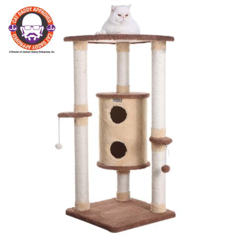 Armarkat Premium Cat Tree Model X4401 Goldenrod & Tan