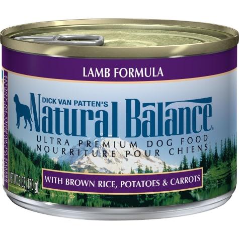 Natural Balance Ultra Premium Lamb Formula Wet Dog Food