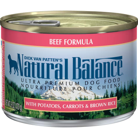 Natural Balance Ultra Premium Beef Formula Wet Dog Food
