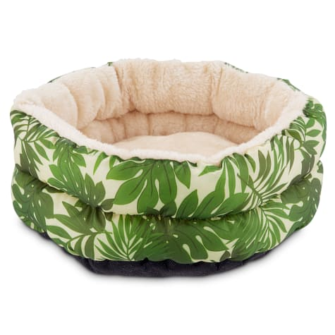 You & Me Tropical Oasis Small Animal Donut Bed