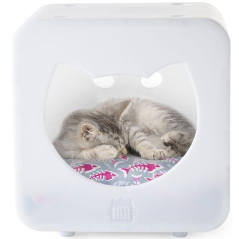 Kitty Kasas Bedroom White for Cat