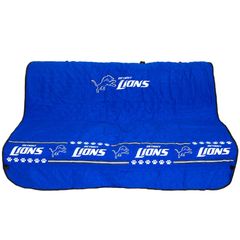 Pets First Detroit Lions Car Seat Cover