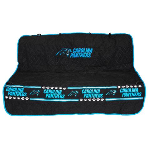 Pets First Carolina Panthers Car Seat Cover