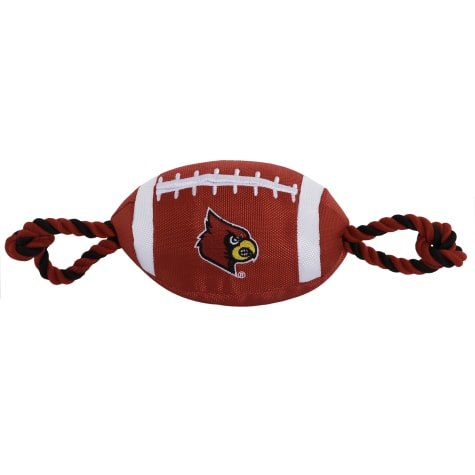Pets First Louisville Nylon Football Toy