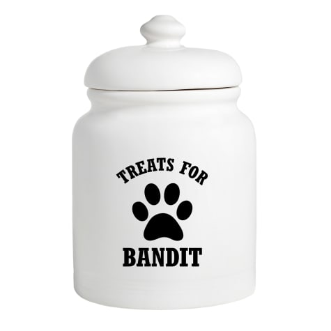 Custom Personalization Solutions Personalized Treats For Puppy Treat Jar
