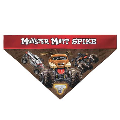 Custom Personalization Solutions Monster Jam Monster Mutt Pet Bandana Collar Cover
