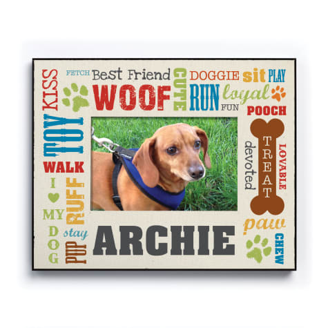 Custom Personalization Solutions Personalized All About The Dog Frame