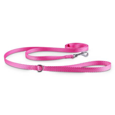 Good2Go Pink Nylon Dog Leash, 1/2