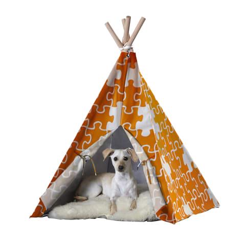 Zoovilla Pet Teepee Orange Puzzle