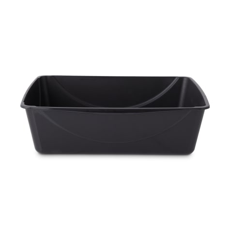 So Phresh Black Cat Litter Pan with Microban