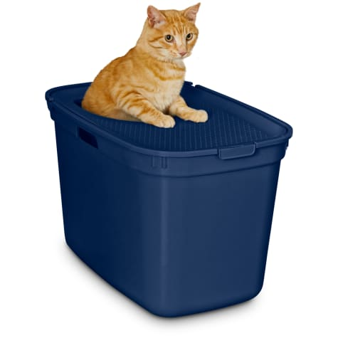 So Phresh Navy Top-Entry Litter Box