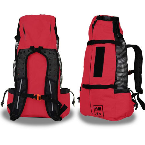 K9 Sport Sack Air Forward Facing Backpack Red Dog Carrier
