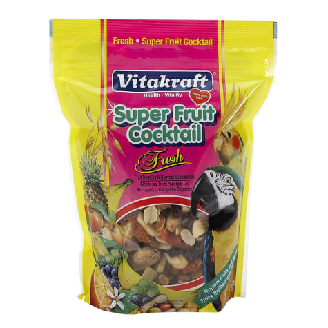 Vitakraft Super Fruit Cocktail Parrot & Cockatiel Treat