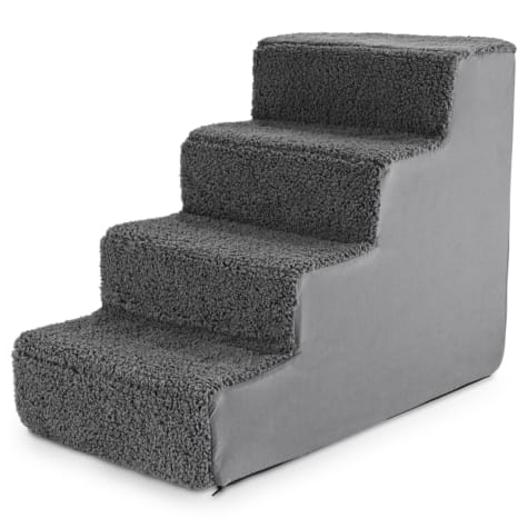 You & Me 4-Step Comfort Foam Pet Stairs