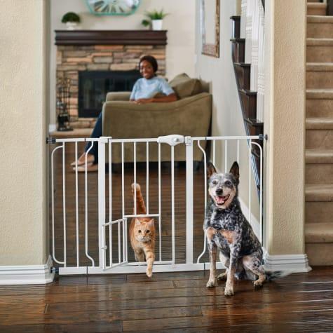 You & Me Extra Wide Walk-Thru Pet Gate