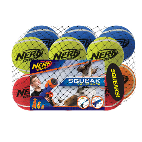 Nerf Squeak Tennis Ball for Dogs