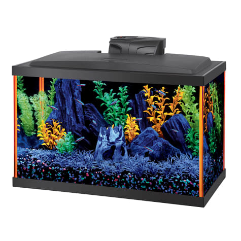 Aqueon NeoGlow 10 Gallon Orange LED Kit