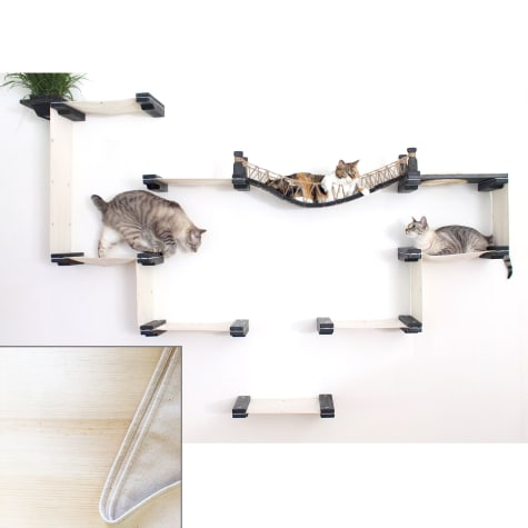 CatastrophiCreations The Cat Mod Bridge Temple Complex for Cats in Natural