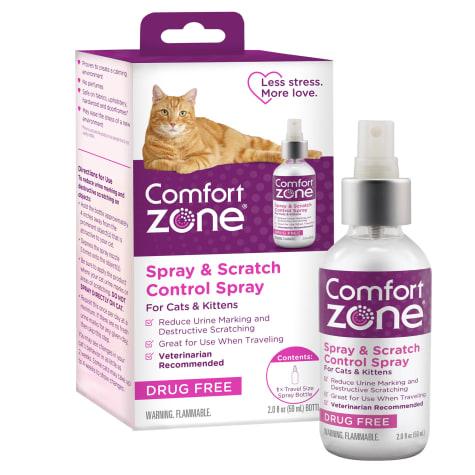 Comfort Zone Spray Scratch Control Spray For Cat 2 Fl Oz Petco