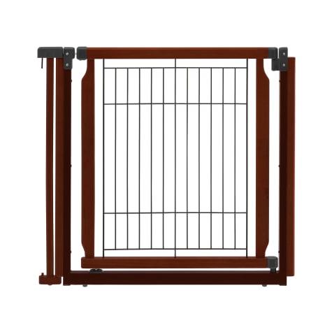 Richell Convertible Elite Cherry Brown Pet Door Panel