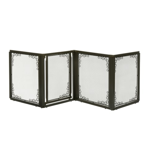 Richell Convertible Elite Mesh Pet Gate 4 Panel