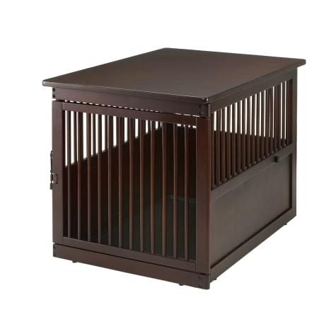 Richell Wooden End Table Pet Crate