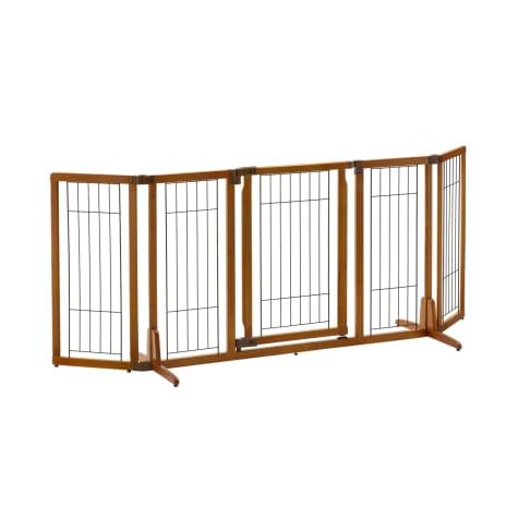 Richell Wide Premium Plus Freestanding Pet Gate