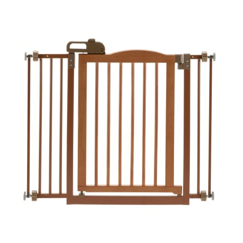 Richell One-Touch Brown Pet Gate II