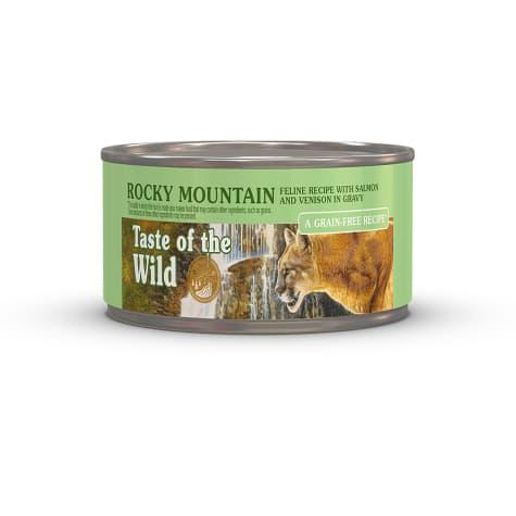 Taste of the Wild Rocky Mountain Grain-Free Roasted Venison & Smoked Salmon Stew Cat Food