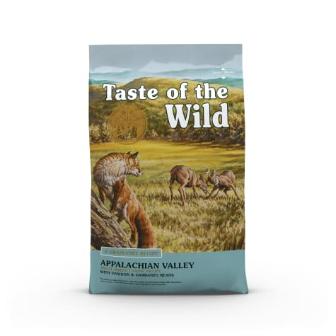 Taste of the Wild Appalachian Valley Small Breed Grain-Free Roasted Venison Dry Dog Food