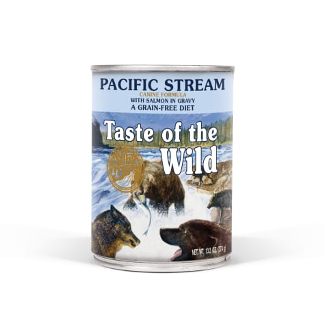 Taste of the Wild Pacific Stream Grain-Free Smoked Salmon Stew Dog Food