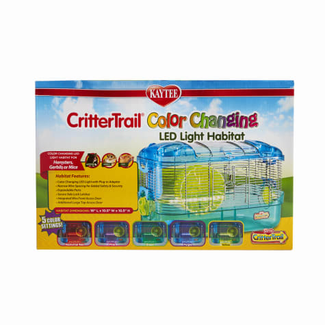 Kaytee CritterTrail LED Color Changing Habitat