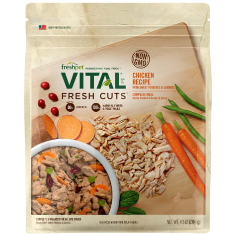 Freshpet Vital Fresh Cuts Shredded Chicken Dog Food