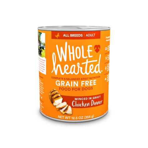 WholeHearted Grain-Free Adult Chicken Dinner Wet Dog Food