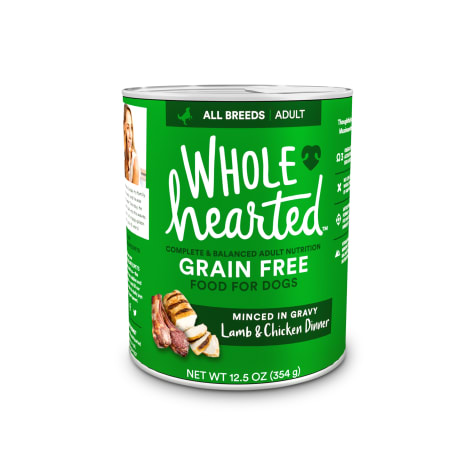 WholeHearted Grain-Free Adult Lamb and Chicken Dinner Wet Dog Food