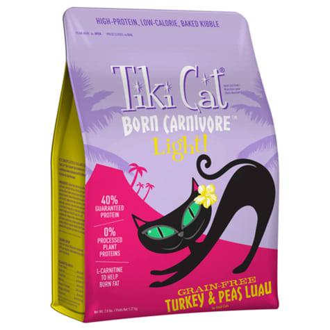 Tiki Cat Born Carnivore Light Grain-Free Turkey & Peas Luau Cat Food