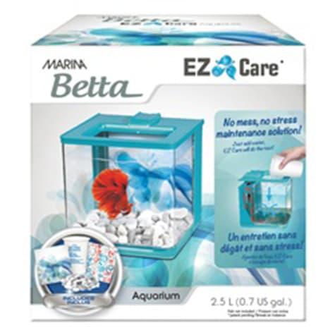 Marina Betta Aquarium Blue EZ Care Plus kit