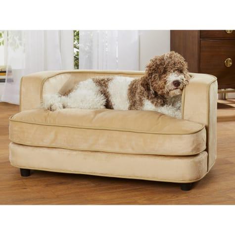 Enchanted Home Pet Cliff Caramel Sofa for Dog