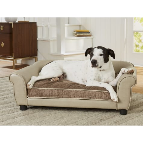 Enchanted Home Pet Maxwell Sofa Stone Cypress for Dog